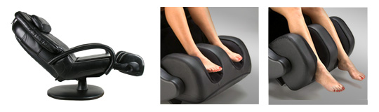 180 degree reclining massage chair