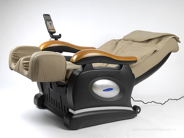 Fauteuil de massage en inclinaison