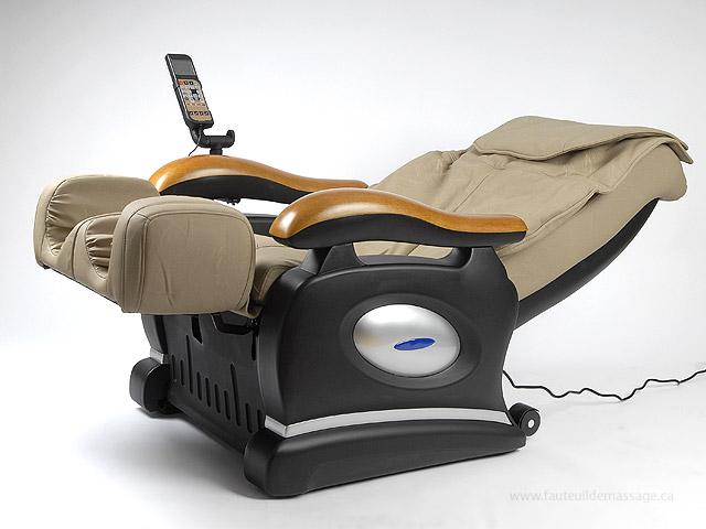 Fauteuil de massage en inclinaison